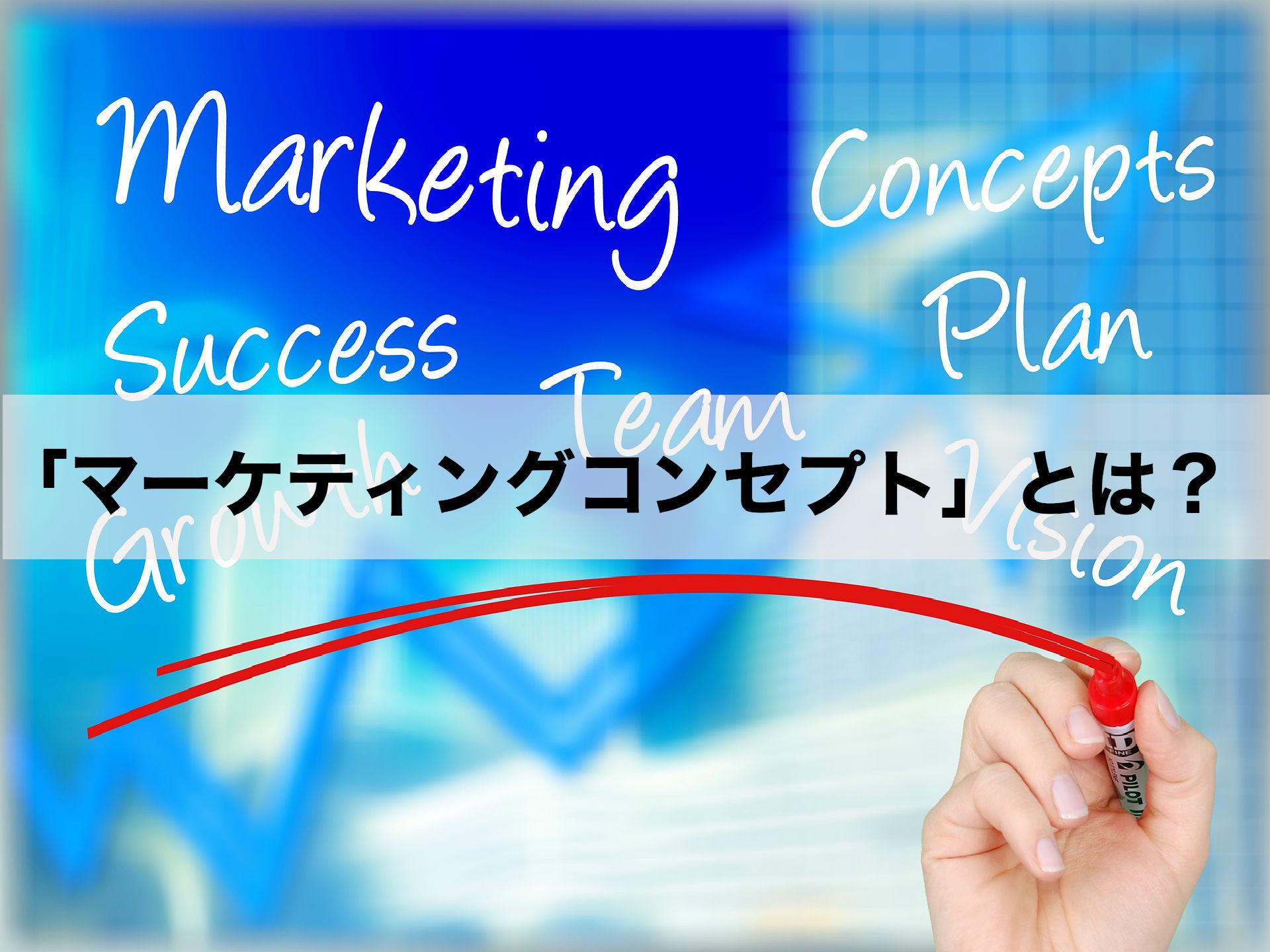 2つの事例付き!マーケティングコンセプトについて徹底解説します。