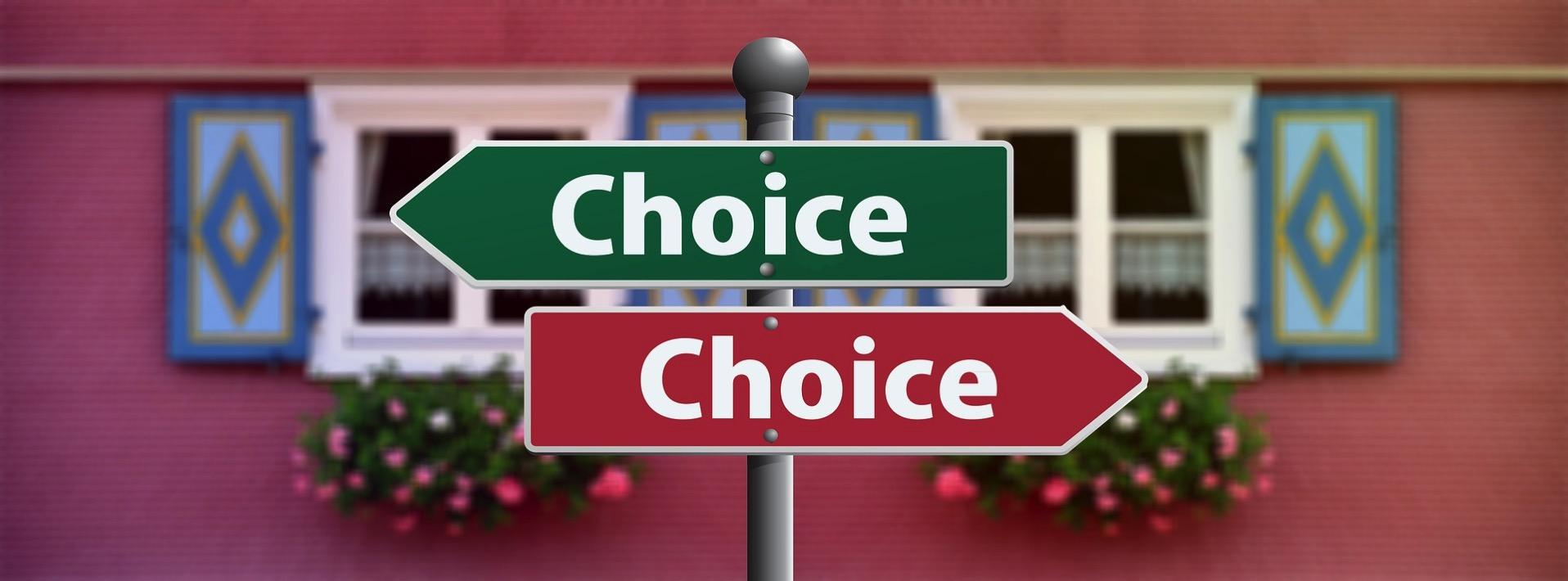 選択 選ぶ チョイス