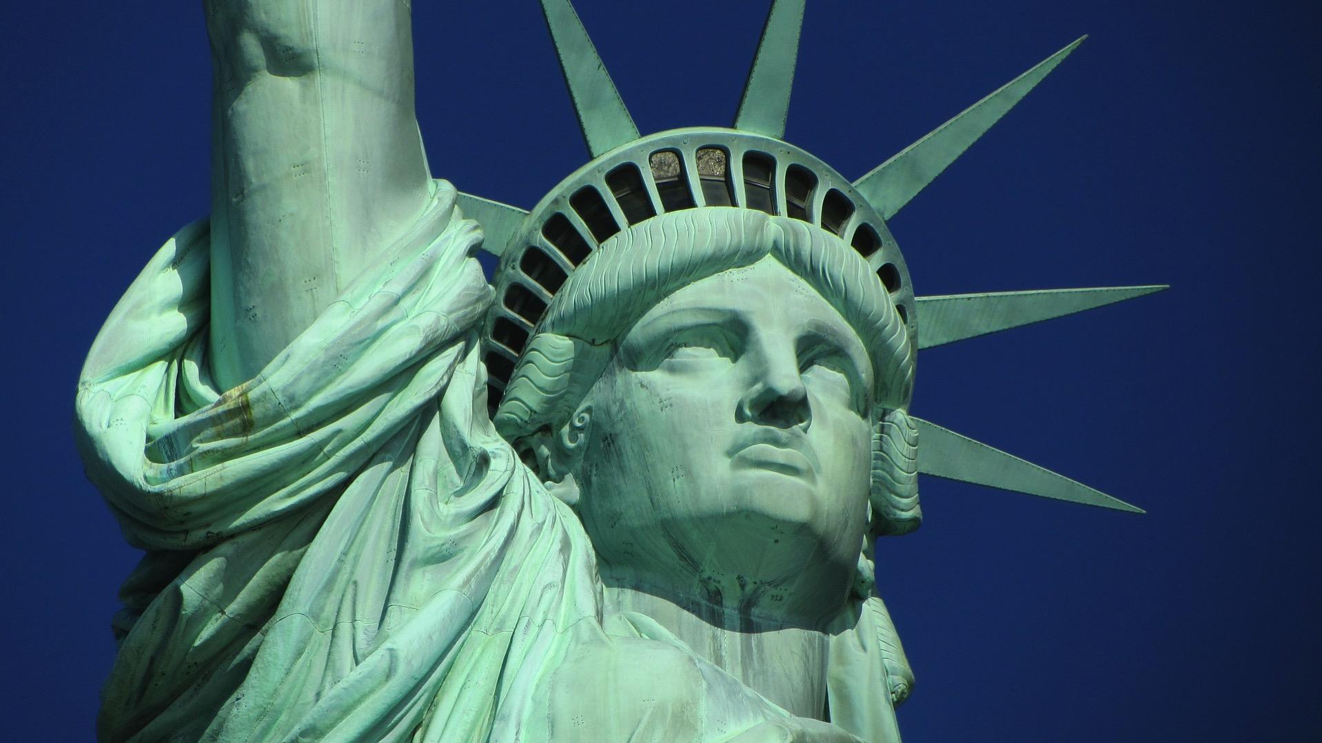 アメリカ 自由の女神