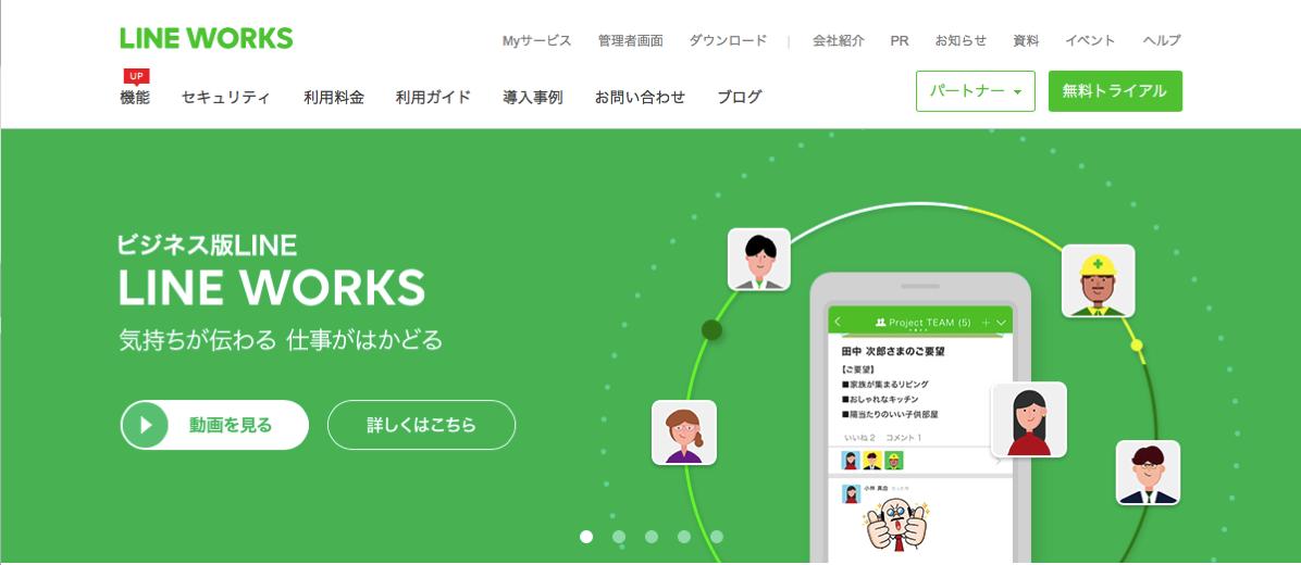 LINEWORKSは、Slackに変わるビジネスチャットツールとなり得るか?