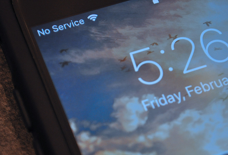 iphone7が正常なのに、通信「圏外」と表示する不具合を、無償修理すると発表。