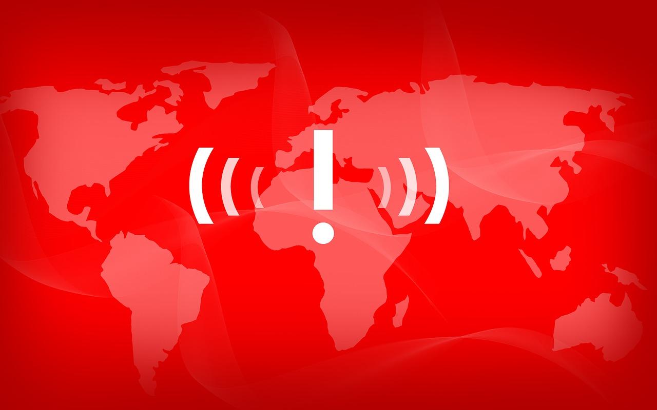 緊急 警告 電波