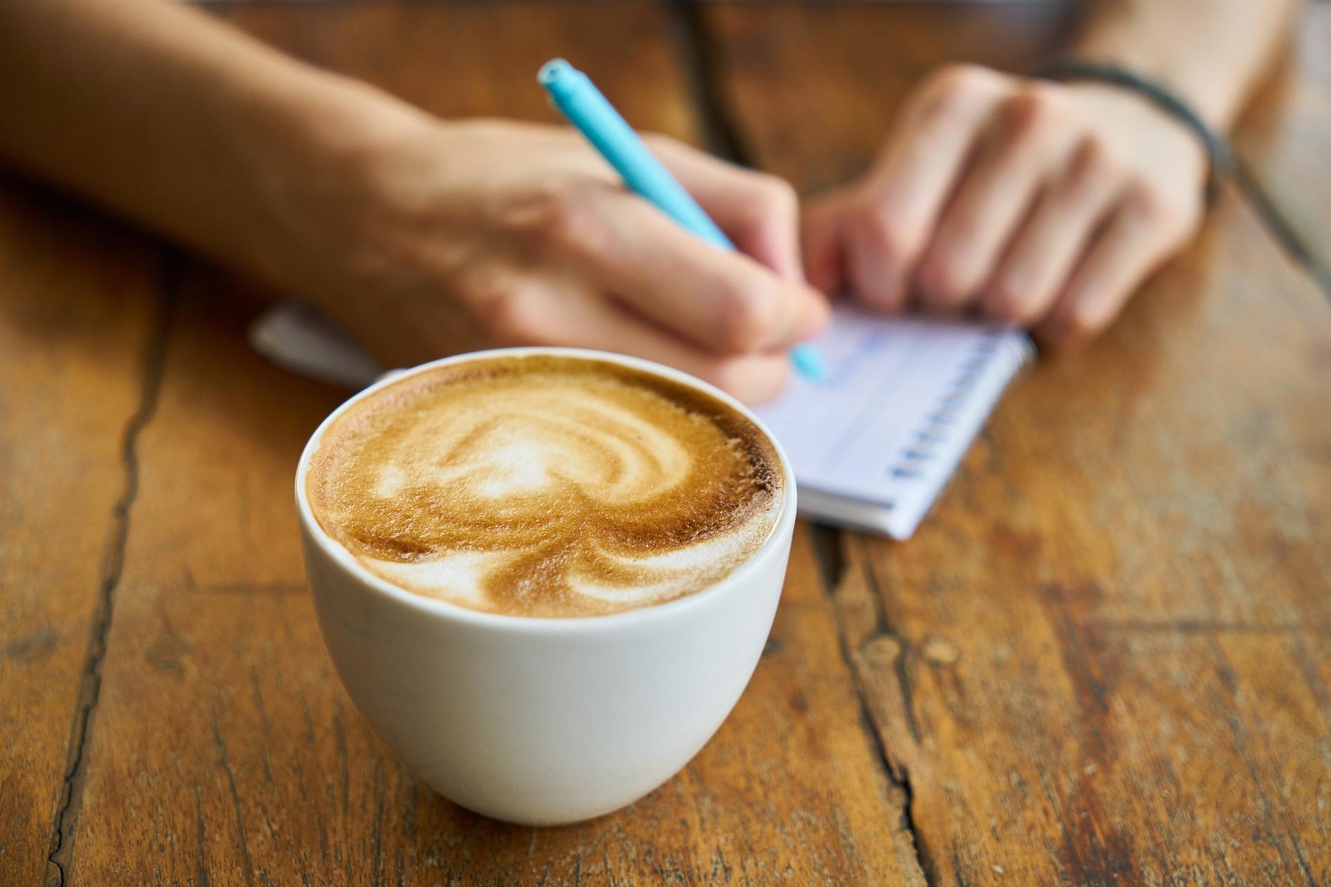 コーヒー ライティング