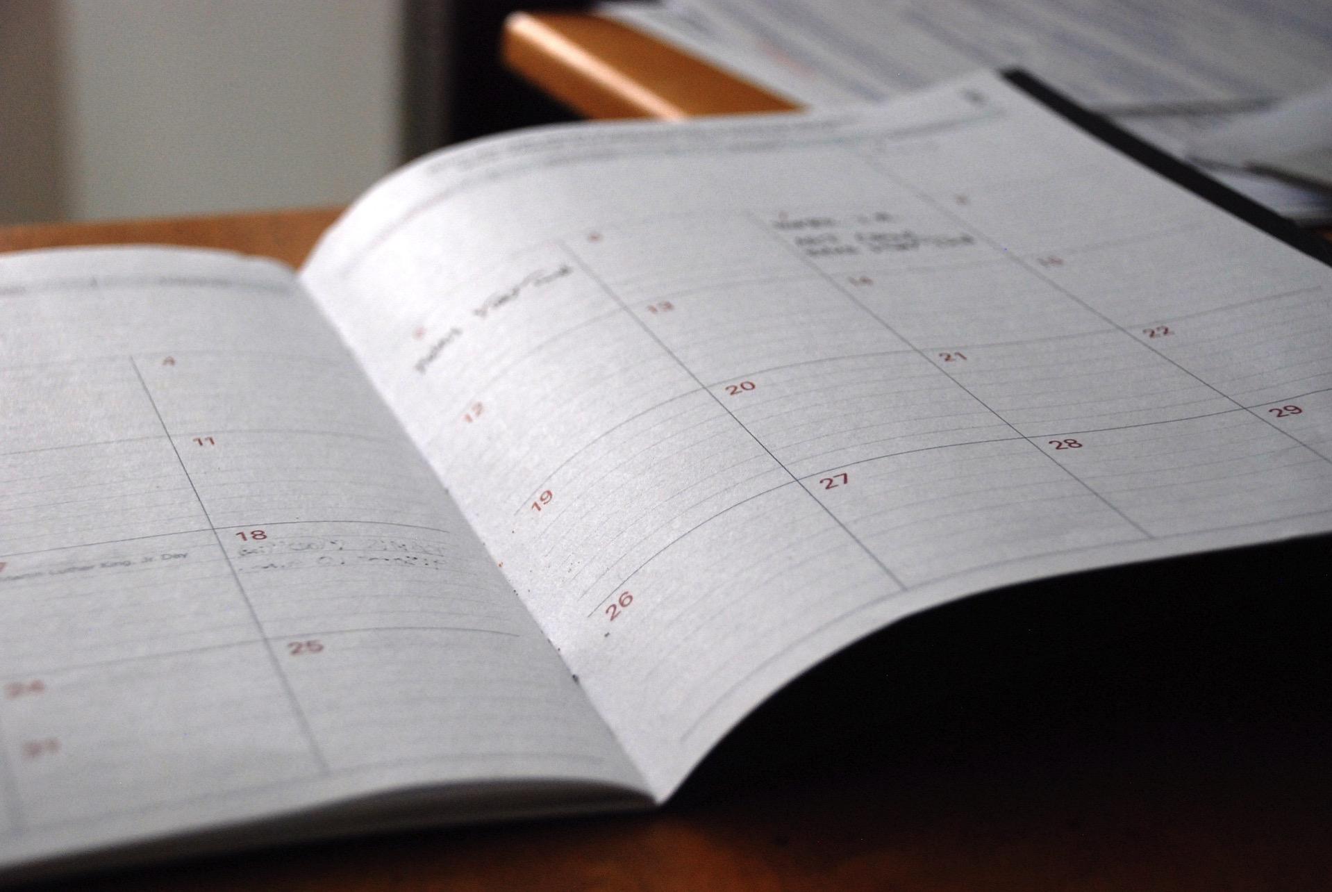 カレンダー 習慣