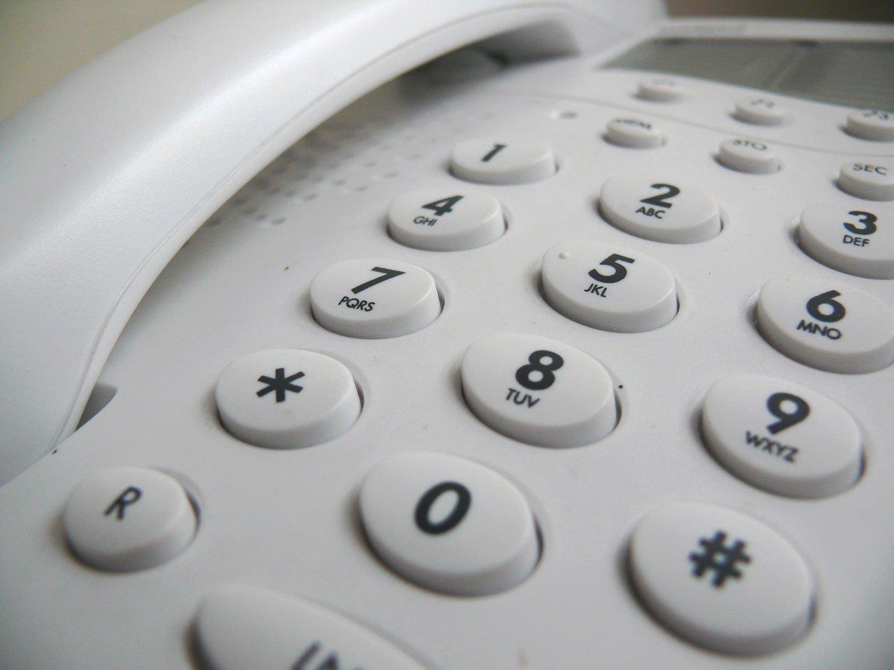電話 call